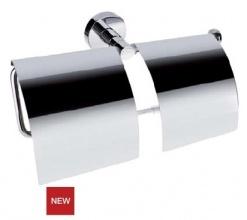 Двоен държач за тоалетна хартия с капаци Omega