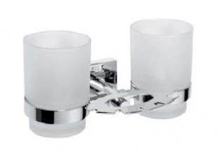 Държач за четки за зъби с две чаши Beta