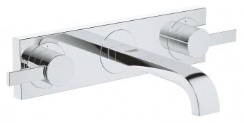 Стенен тридупков смесител за умивалник Allure S-размер