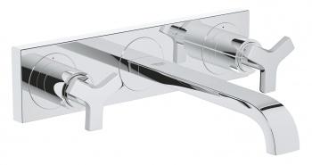 Стенен тридутков смесител за умивалник Allure М-размер