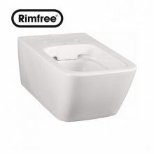 Висяща тоалетна чиния Life Rimfree 52x32 см