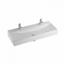 Мивка за баня с едно корито и два отвора за батерия Quattro 119x47x14,5