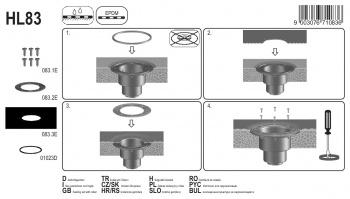 Притискащ пръстен за хидроизолация HL83