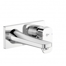 Вграден смесител за умивалник с лят чучур Tonic II 180 mm
