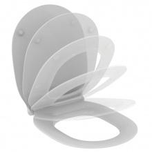 Ултратънък капак за тоалетна чиния с плавно затваряне Connect Air