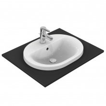 Овална мивка за вграждане Connect 55x43