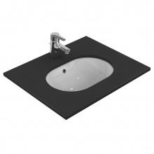 Овална мивка за вграждане под плот Connect 48x35
