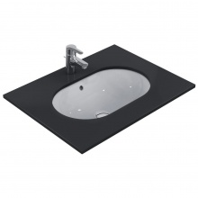 Овална мивка за вграждане под плот Connect 62x41