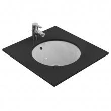 Кръгла мивка за вграждане под плот Connect 48x48