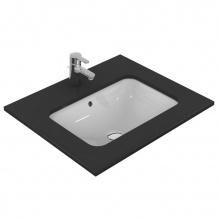 Правоъгълна мивка за вграждане под плот Connect 58x41