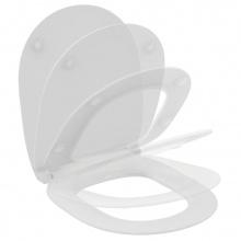 Ултратънък капак за тоалетна чиния с плавно затваряне Connect Space