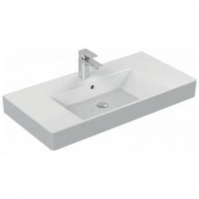 Мивка за баня с отвор за батерия Strada 91x45,5