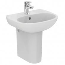 Малка мивка за баня с отвор за батерия Tesi Light 45х36
