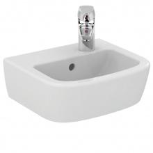 Малка мивка за баня с десен отвор за батерия Tempo 35x30