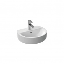 Малка мивка за баня с отвор за батерия Connect Sphere 45x36