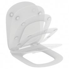 Ултратънък капак за тоалетна чиния с плавно затваряне Tesi