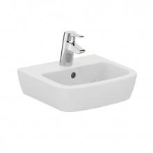 Малка мивка за баня с отвор за батерия Tempo 40x36