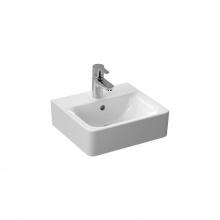 Малка мивка за баня с отвор за батерия Connect Cube 40x36