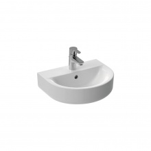 Малка мивка за баня с отвор за батерия Connect Arc 45x36