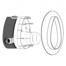 Вградена част Multiport за смесители за вана/душ (Комплект 1)