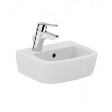 Малка мивка за баня с ляв отвор за батерия Tempo 35x30