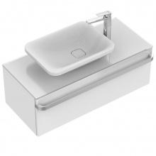 Асиметрична мивка за монтаж върху плот Tonic II 55x40