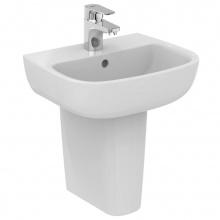 Малка мивка за баня с отвор за батерия Esedra 45х36