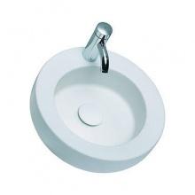 Кръгла мивка върху плот Cocktail 45x45