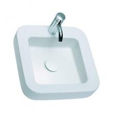 Квадратна мивка върху плот Cocktail 45x45
