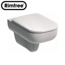 Висяща тоалетна чиния Traffic Rimfree 53 см