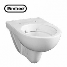 Висяща тоалетна чиния Nova Pro Rimfree 53x35 см