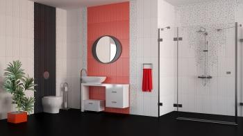 Saba Rojo and Negro 20x50