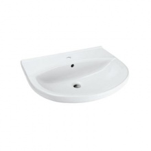 Мивка за баня с отвор за батерия Ulysse Style 55x45