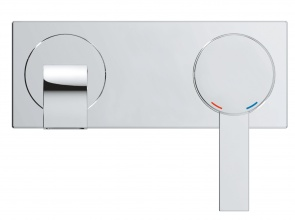 Стенен двудупков смесител за умивалник Allure S-размер