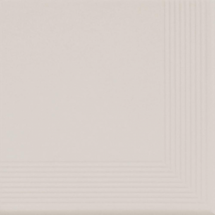 Cream Ъглова стъпална плочка Cream 30x30x1,1