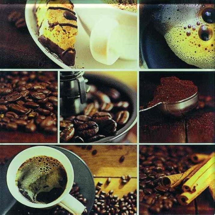Porto 20x20 Декор Caffe Szklany 20x20