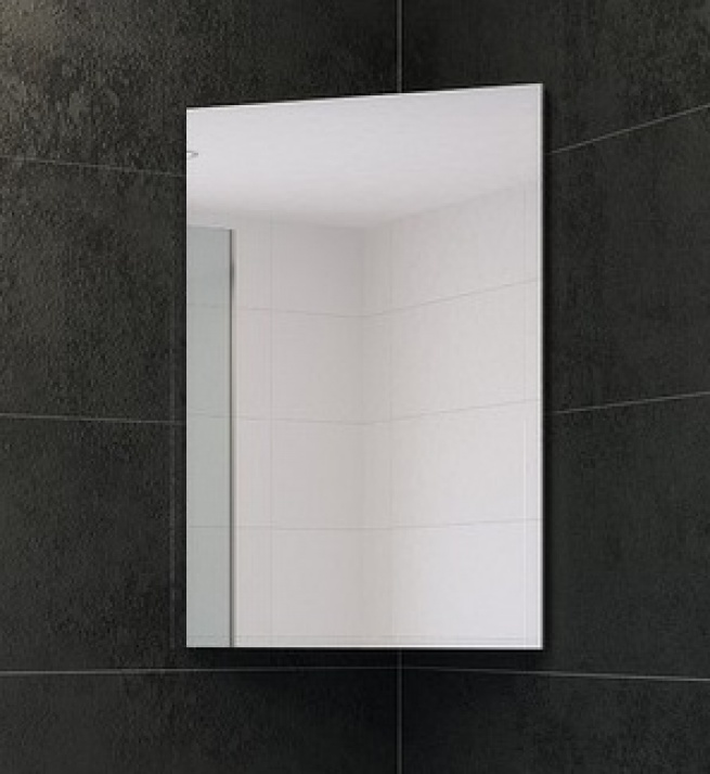 Комплект за баня Кара 46 PVC Горен ъглов шкаф за баня Кара 46 PVC