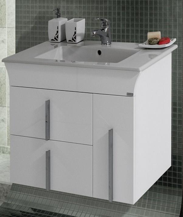 Комплект за баня Линеа 80 PVC Долен шкаф за баня Линеа 80 PVC