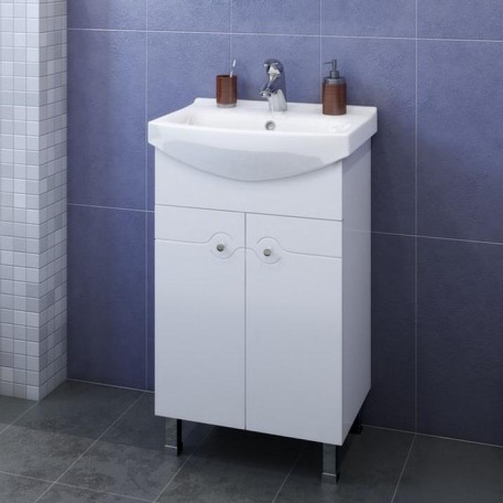 Комплект за баня Ели 50 PVC Долен шкаф за баня Ели 50 PVC