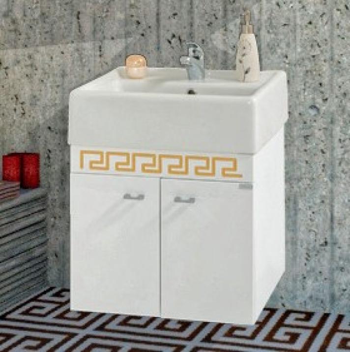 Комплект за баня Призма 50 PVC Долен шкаф за баня Призма 50 PVC