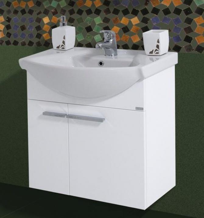 Комплект за баня Маги 60 PVC Долен шкаф за баня Маги 60 PVC
