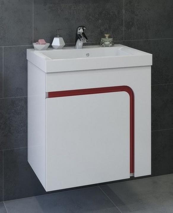 Комплект за баня Тереза 60 PVC Долен шкаф за баня Тереза 60 PVC