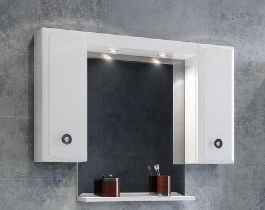 Комплект за баня Лати 114 MDF Горен шкаф за баня Лати 114 MDF