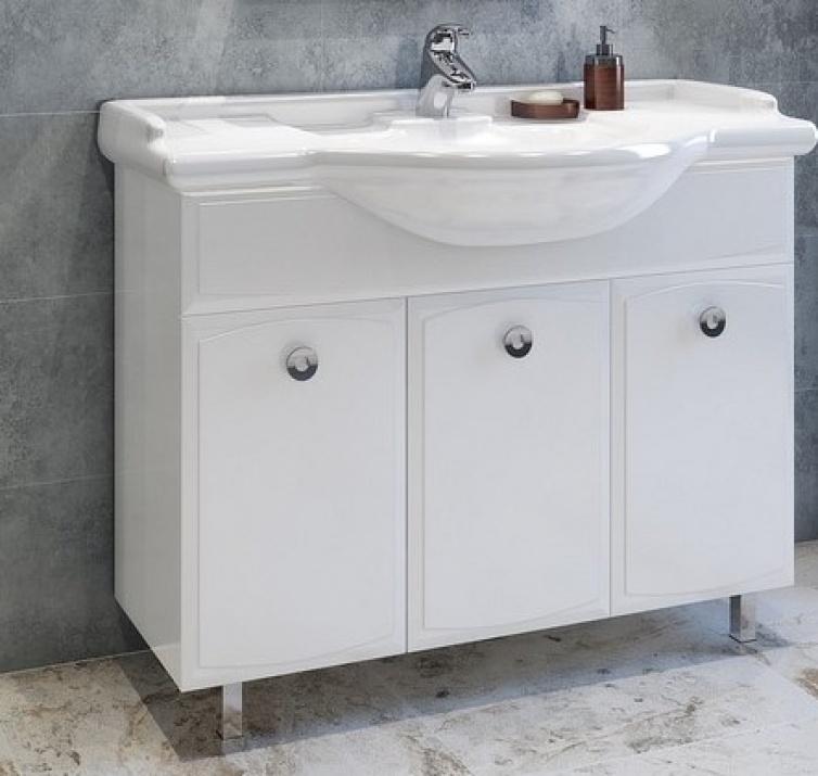 Комплект за баня Лати 114 MDF Долен шкаф за баня Лати 114 MDF