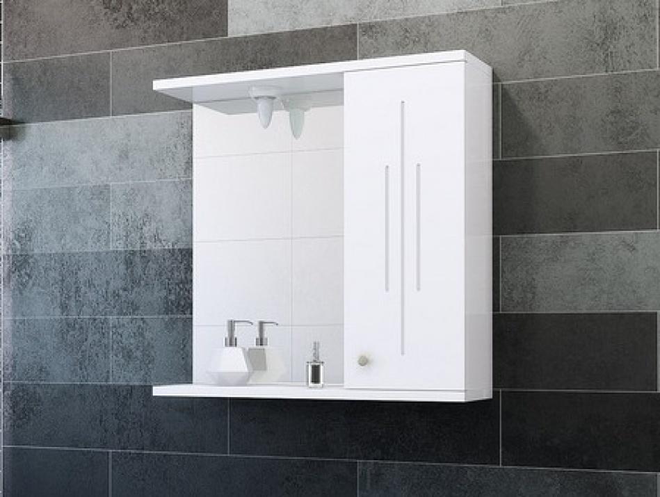 Горен шкаф за баня Ива 55 MDF Горен шкаф за баня Ива 55 MDF