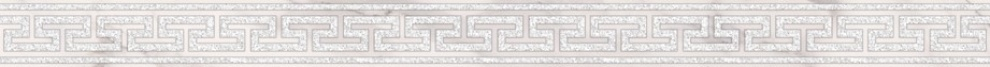 Caravaggio 25x65 Фриз Caravaggio Light Bianco 4,5x65