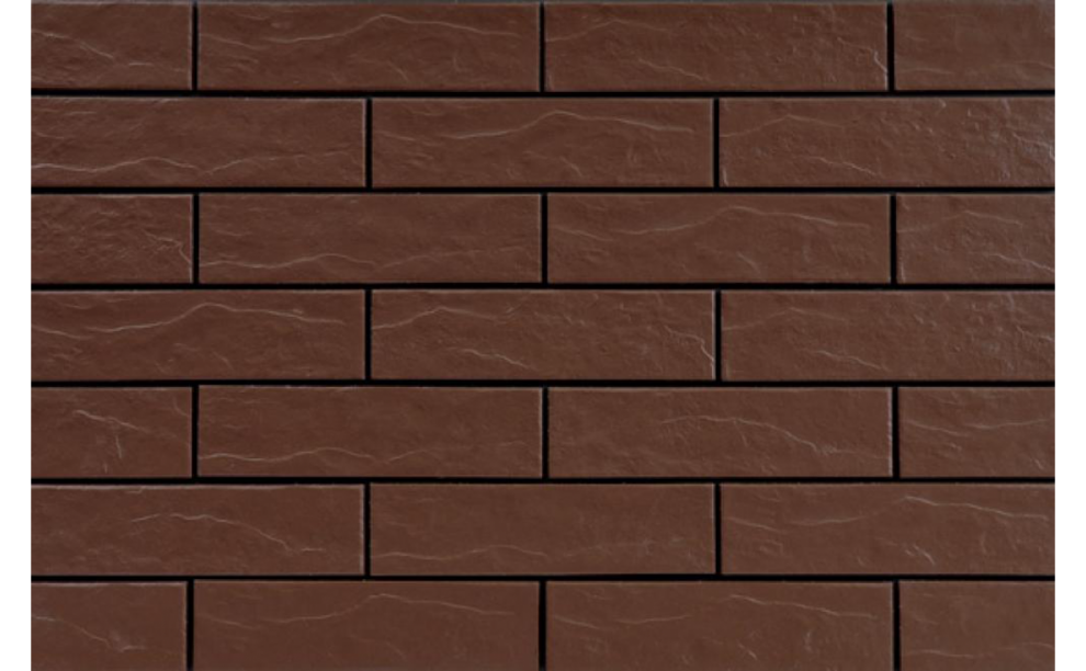 Brown Фасадна рустикална плочка Brown 24,5x6,5x0,65