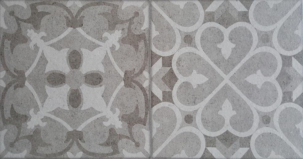 Klio 25x50 Декор Klio Grey 2 25x50
