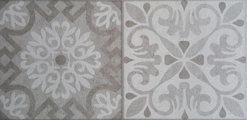 Klio 25x50 Декор Klio Grey 5 25x50