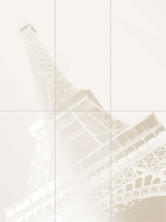 Paris Декор Tour Eiffel Set 6 Elements 89,8x119,8